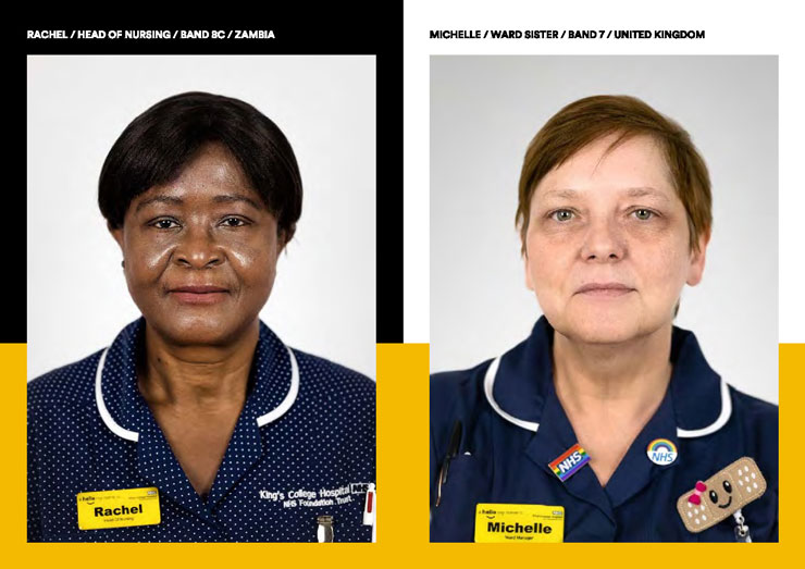 Photography student's project highlights diverse faces of the NHS